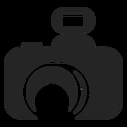 Icono de camara abstracta