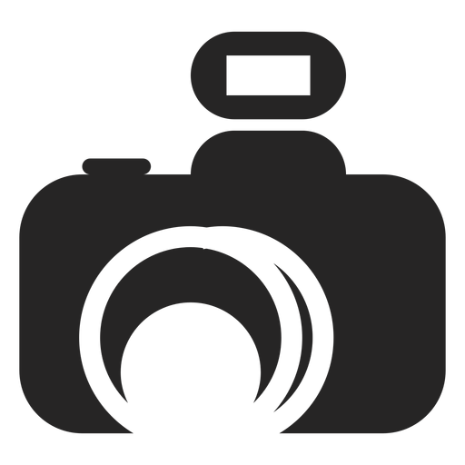 Abstract camera icon Transparent PNG