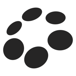 Dots and circles graphic