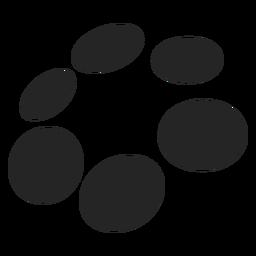 Pontos e círculos gráficos