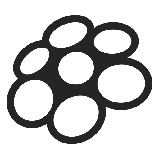 Perspective circle graphics icon Transparent PNG