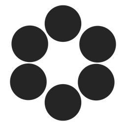 Kreis Grafiksymbol Symbol