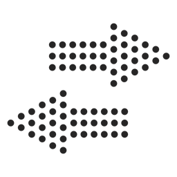 Dotted arrows icon