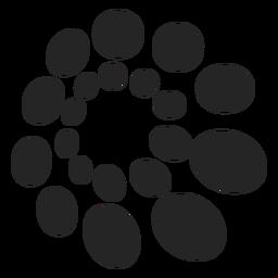Dotted pattern pattern