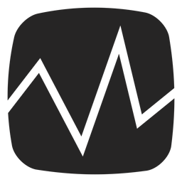 ECG heartbeat icon