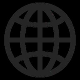 Schlaganfall Basketball-Symbol