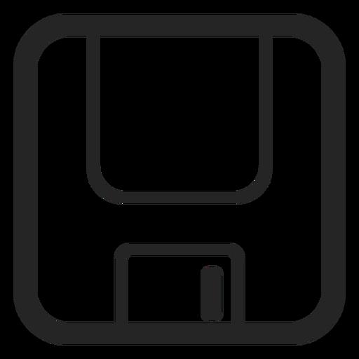 Ícone de disquete Transparent PNG