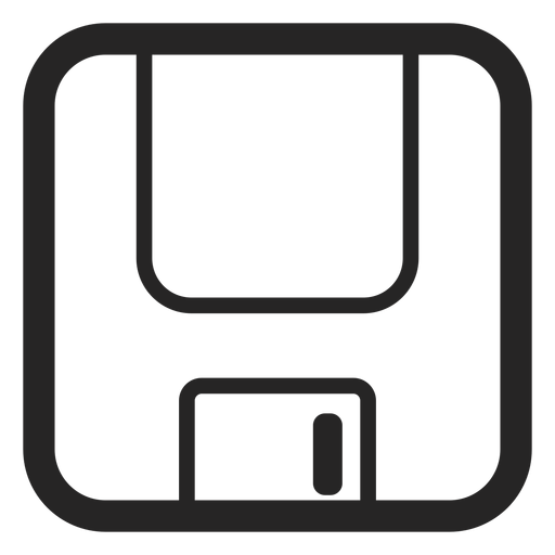 Floppy disk icon Transparent PNG