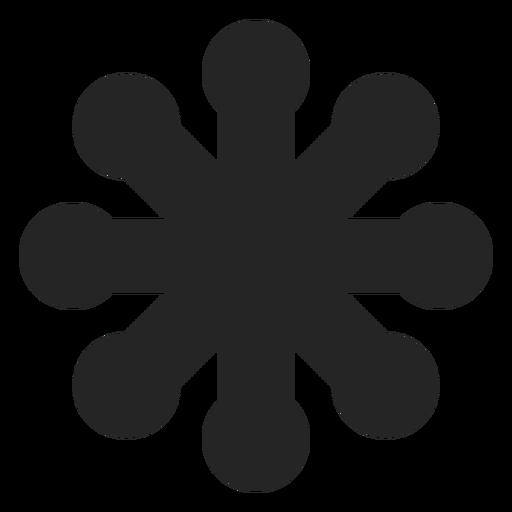 Resumen floral gráfico Transparent PNG