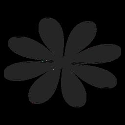 Icono de gráficos florales