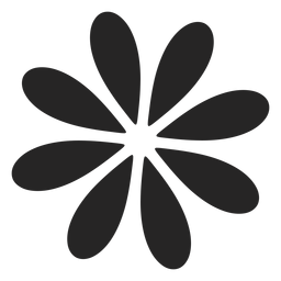 Simple flower graphic