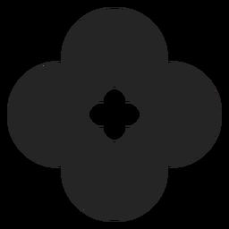 Gráficos de flores gráficos
