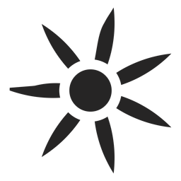 Icono de flor compleja