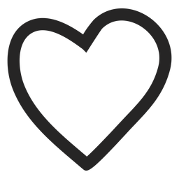 Heart graphic icon