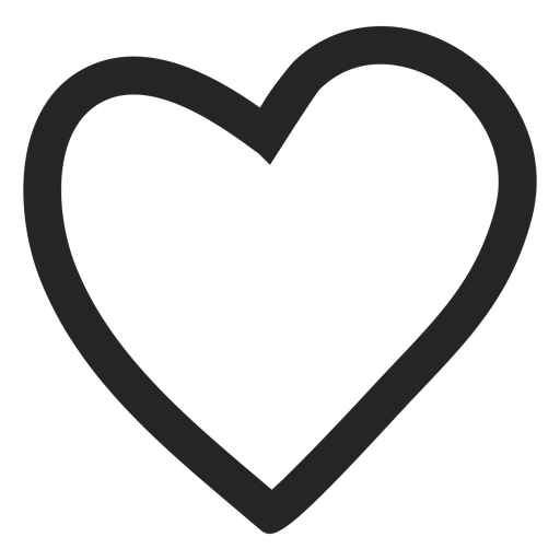 Heart graphic icon Transparent PNG