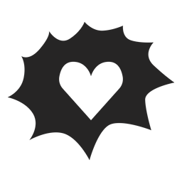 Heart graphics icon