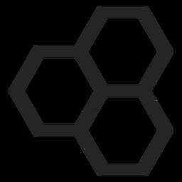Icono de hexágono