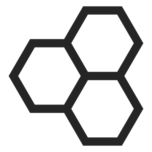Icono de hexágono Transparent PNG