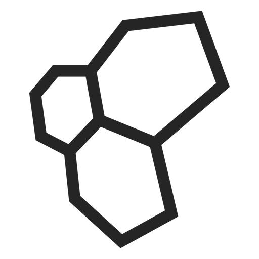 Hexagonal icon graphics Transparent PNG