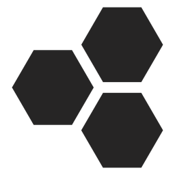 Hexagon basic icon
