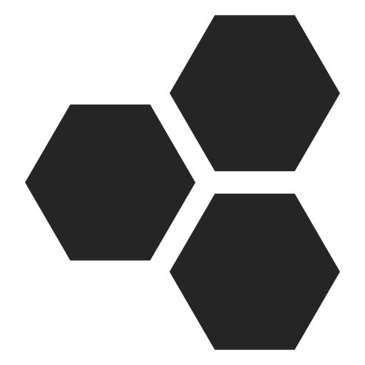 Hexagon basic icon Transparent PNG