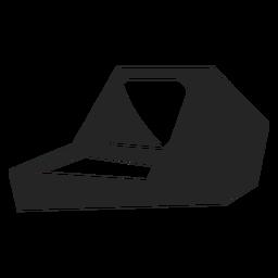 Icono de la computadora de la vieja escuela