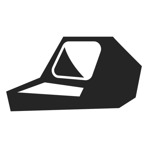 Old school computer icon Transparent PNG