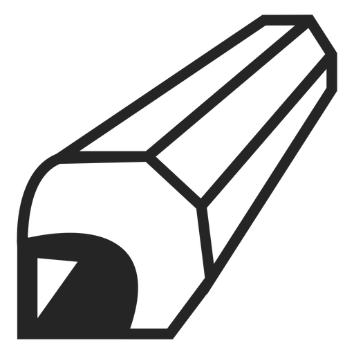 Perspective pencil icon Transparent PNG