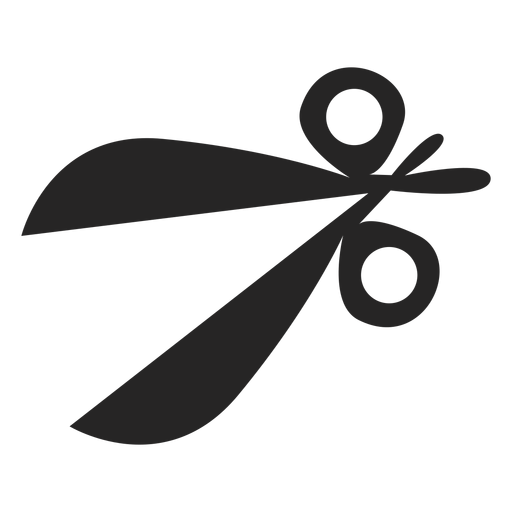 Simple scissors icon Transparent PNG