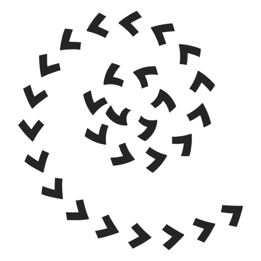 Spiral arrows icons