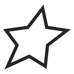 Basic star icon