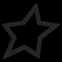 Icono estrella básico