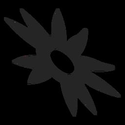 Icono tribal del sol