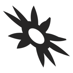 Sun tribal icon