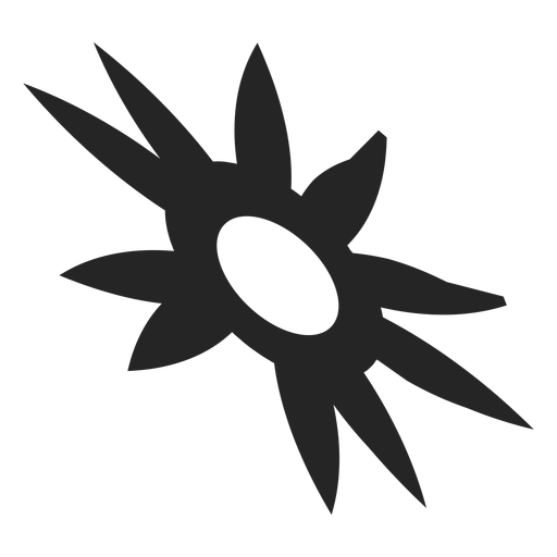 Sun tribal icon Transparent PNG