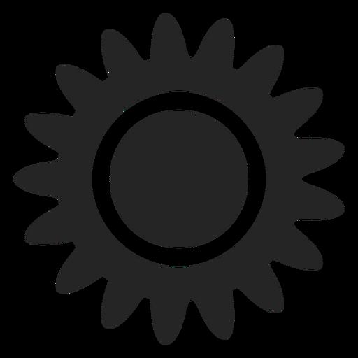 Sol tropical, ícone Transparent PNG
