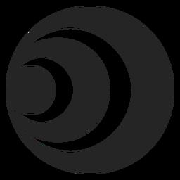 Ícone de túnel simples