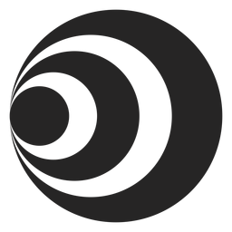 Icono de túnel simple