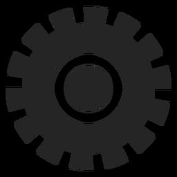 Diseño gráfico de la rueda.