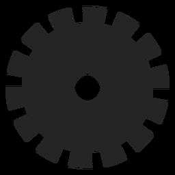 Icono de ruedas simples