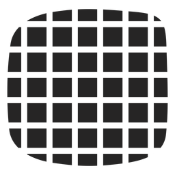 Checkered illusion icon