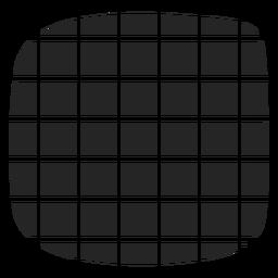 Icono de ilusión a cuadros