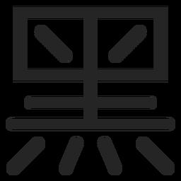 Icono de tipografía china