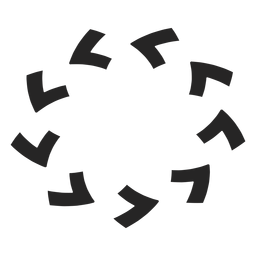 Counterclockwise circle icon
