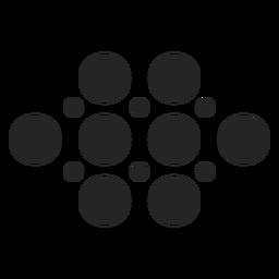Icono de puntos básicos