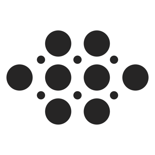 Basic dots icon Transparent PNG