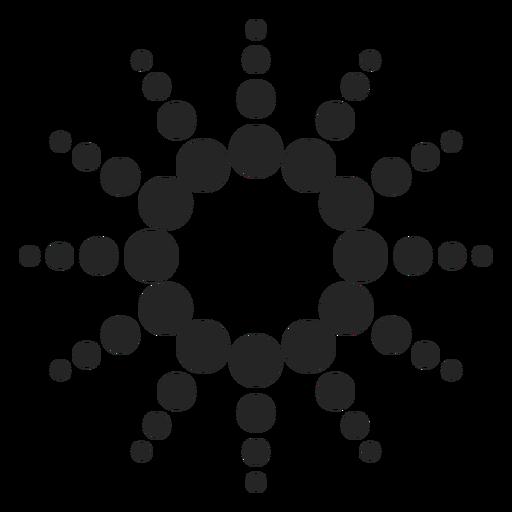 Gráfico de ícone de pontos Transparent PNG