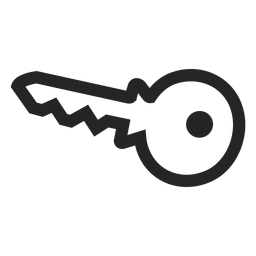 Ícone de chave básica
