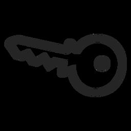 Icono de llave básica