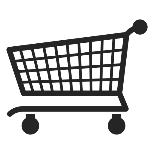Push cart icon graphic Transparent PNG